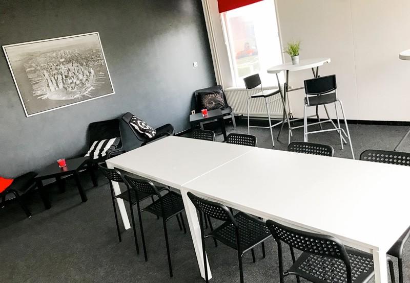 Espaces de bureau networking et réunions à bruxelles